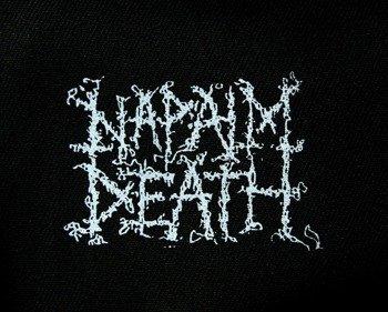 naszywka NAPALM DEATH - LOGO