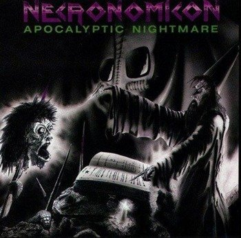 naszywka NECRONOMICON - APOCALYPTIC NIGHTMARE