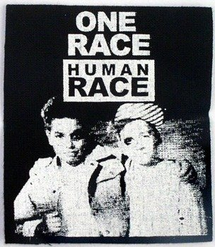 naszywka ONE RACE - HUMAN RACE