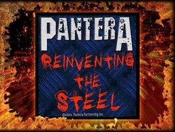 naszywka PANTERA - REINVENTING THE STEEL