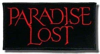naszywka PARADISE LOST - LOGO RED