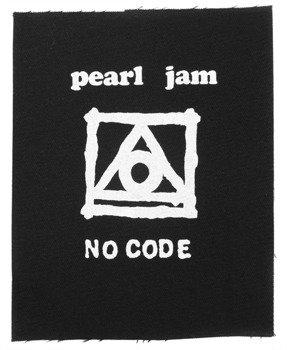 naszywka PEARL JAM - NO CODE