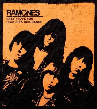 naszywka RAMONES - BABY I LOVE YOU