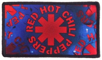naszywka RED HOT CHILI PEPPERS -  RED HOT CHILI PEPPERS