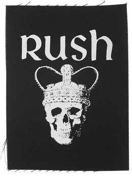 naszywka RUSH - A FAREWELL TO KING