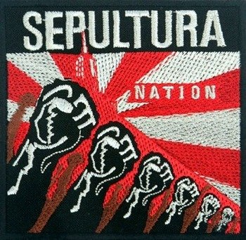 naszywka SEPULTURA - NATION