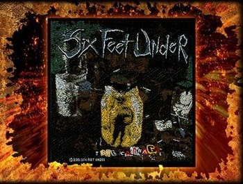 naszywka SIX FEET UNDER -  TRUE CARNAGE