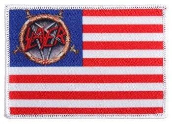 naszywka SLAYER - USA FLAG