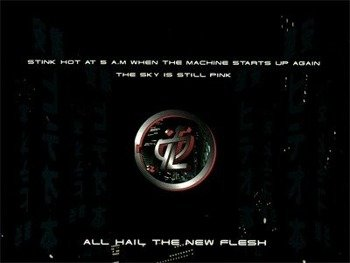 naszywka STRAPPING YOUNG LAD - ALL HAIL THE NEW FLESH