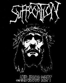 naszywka SUFFOCATION - ...AND JESUS WEPT