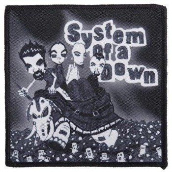 naszywka SYSTEM OF A DOWN - CARTOON