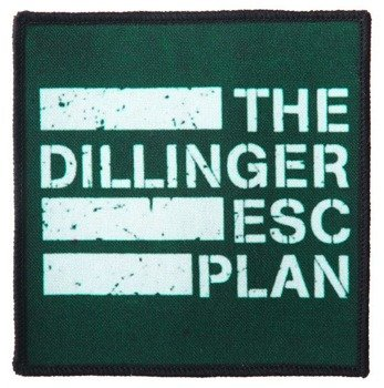 naszywka THE DILLINGER ESCAPE PLAN - LOGO
