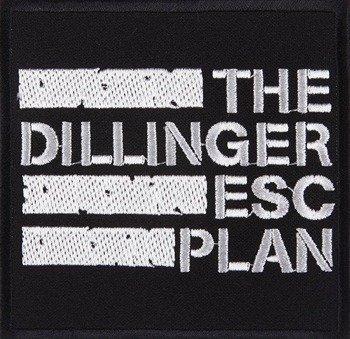 naszywka THE DILLINGER ESCAPE PLAN - LOGO