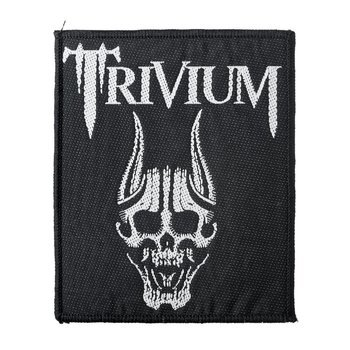 naszywka TRIVIUM - SCREAMING SKULL