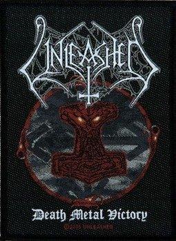 naszywka UNLEASHED - DEATH METAL VICTORY