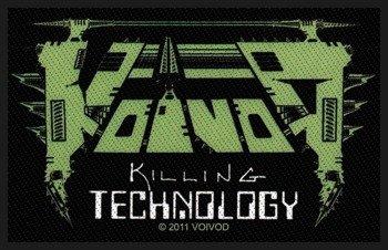 naszywka VOIVOD - KILLING TECHNOLOGY