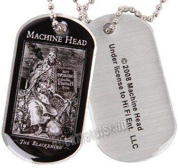 nieśmiertelnik MACHINE HEAD - THE BLACKENING