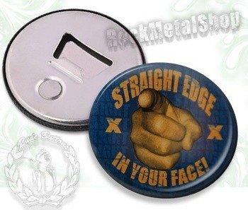 otwieracz do piwa STRAIGHT EDGE - IN YOUR FACE