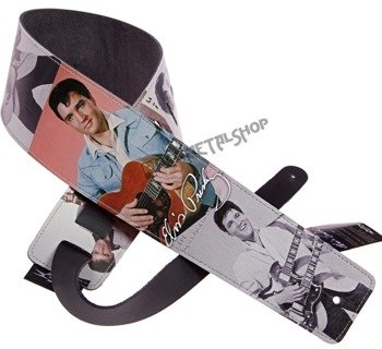 pas do gitary ELVIS PRESLEY - GUITARS skórzany, 89mm