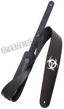 pas do gitary PLANET WAVES - ICON LEATHER: BIOHAZARD (25L-BIO)