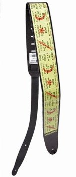 pasek do gitary PLANET WAVES - WOODSTOCK LEATHER COLLECTION (25LW01)