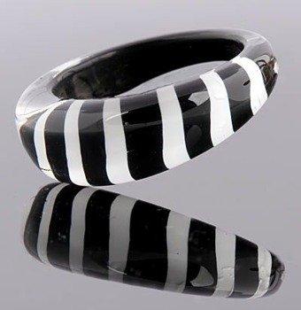 pierścień STRIPES