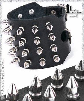 pieszczocha 4-rzędowa z ćwiekami SPIKE SMALL [LWZA-082]