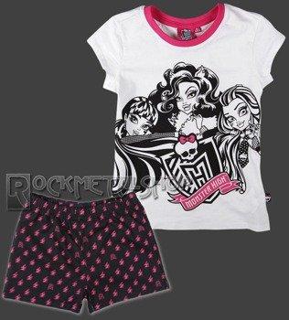 piżama dziecięca MONSTER HIGH - THREE FRIENDS dla dziewczynki