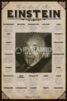 plakat ALBERT EINSTEIN - QUOTES
