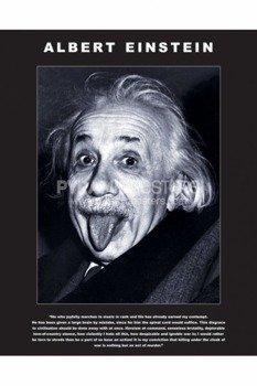 plakat ALBERT EINSTEIN - TONGUE