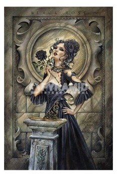 plakat ALCHEMY - BLACK ROSE
