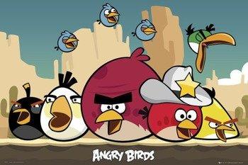 plakat ANGRY BIRDS - SHERIFF