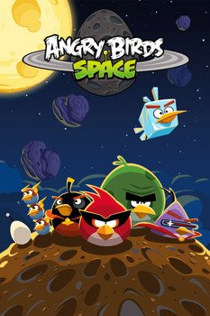 plakat ANGRY BIRDS - SPACE