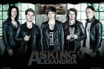plakat ASKING ALEXANDRIA -  WINDOW