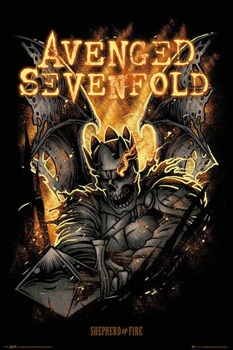 plakat AVENGED SEVENFOLD - SHEPHERD OF FIRE
