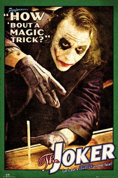 plakat BATMAN - JOKER TRICK