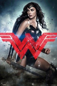plakat BATMAN VS SUPERMAN - WONDER WOMAN SOLO