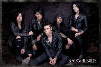 plakat BLACK VEIL BRIDES - GROUP SIT