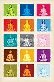 plakat BUDDHA - POP ART