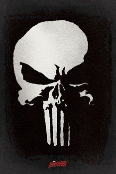 plakat DAREDEVIL - PUNISHER