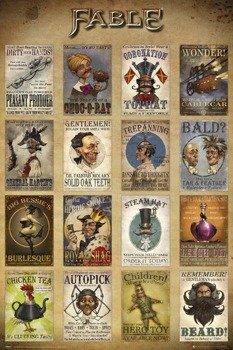 plakat FABLE LEGENDS - ADVERTS