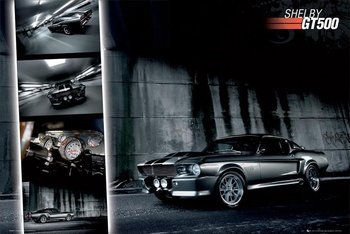 plakat FORD SHELBY MUSTANG GT500
