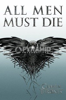plakat GAME OF THRONES - ALL MEN MUST DIE