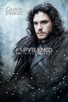 plakat GAME OF THRONES - JON SNOW