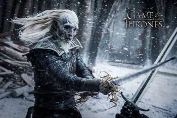 plakat GAME OF THRONES - WHITE WALKER