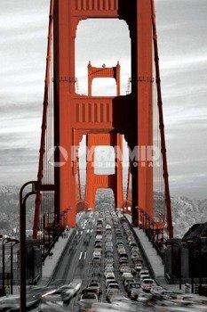plakat GOLDEN GATE BRIDGE - SAN FRANCISCO