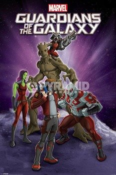 plakat GUARDIANS OF THE GALAXY - GROUP