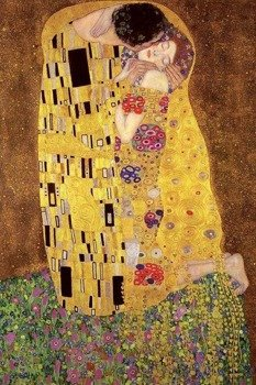 plakat GUSTAV KLIMT'S - THE KISS