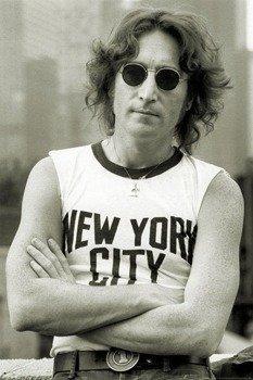 plakat JOHN LENNON - NYC - BOB GRUEN