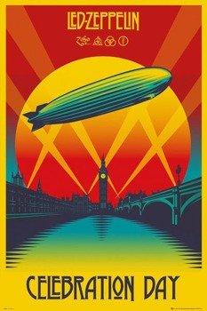 plakat LED ZEPPELIN - CELEBRATION DAY